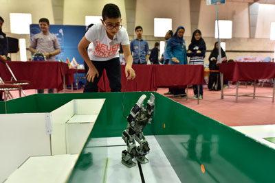 المپیک رباتهای انساننما