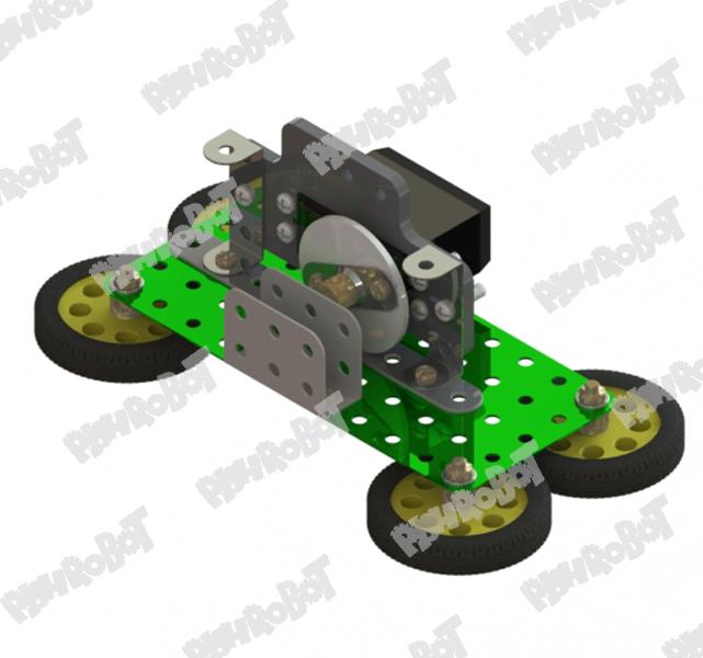 سروو موتور یاتاقان صفحه فلزی