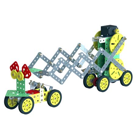 ساخت ربات کرم خاکی