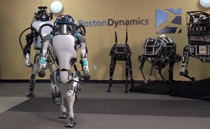 Atlas BostonDynamics Humanoid