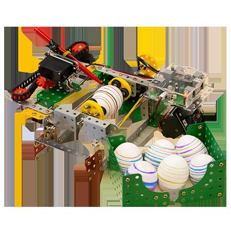 kai robot egg painter
