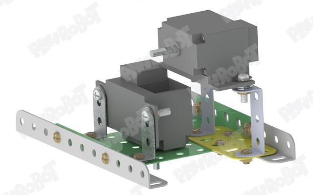 نصب موتور رباتیک برای ساخت ربات