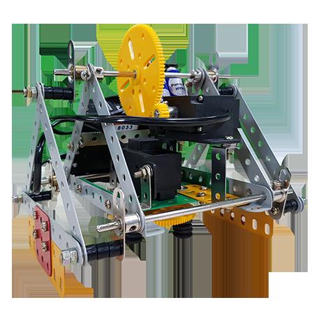 robot video- ربات مثلثی نسخه ۲
